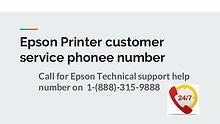 Epson Printer Customer service phone number