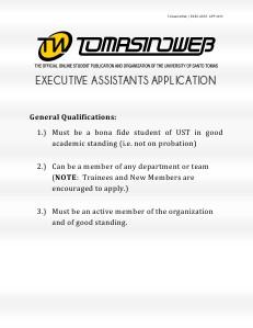 TW EA App Process SEPT 2013