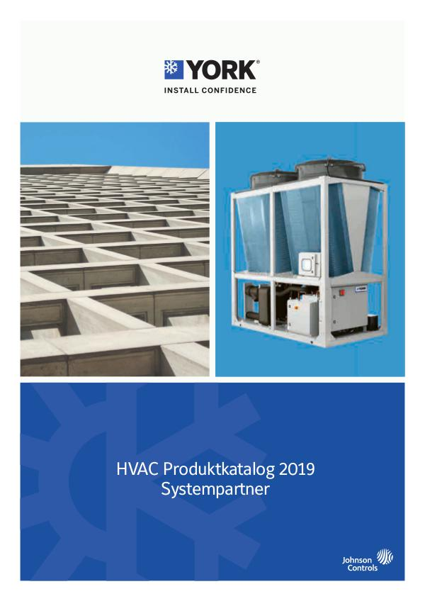 York HVAC Catalogue 2018 EN 2019 DE