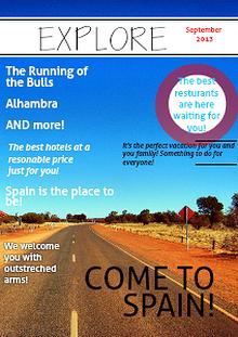 Spain travel Magazine