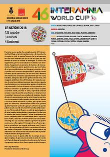 """46^ INTERAMNIA WORLD CUP"" MAGAZINE UFFICIALE"