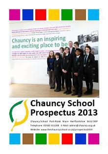 Chauncy Prospectus 2013