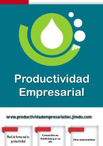 Productividad Empresarial TEC... ¡Integrando Creatividad e Innovación! 2013
