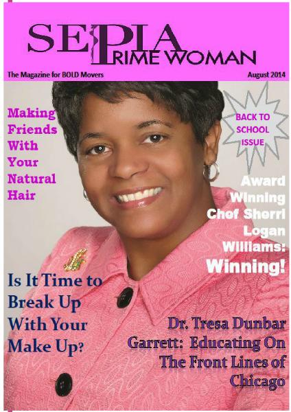 Sepia Prime Woman Digital Magazine August 2014
