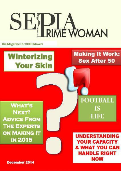 Sepia Prime Woman Digital Magazine December 2014