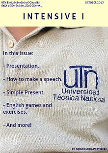 UTN English Intensive Courses