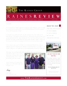 The Raines Group Newsletter - November 2013 (Nov. 2013)