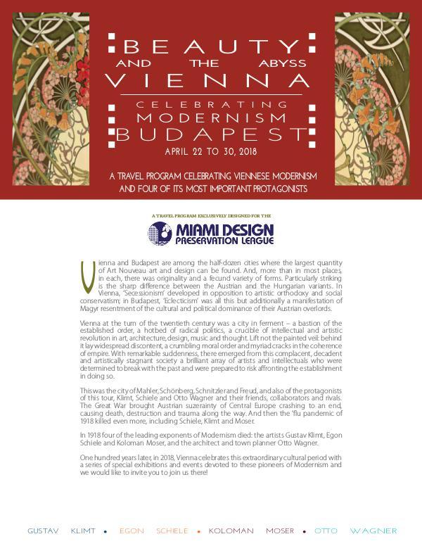 Vienna and Budapest 2018 Vienna and Budapest Miami PU