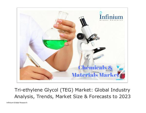 Infinium Global Research Tri-ethylene Glycol (TEG) Market Global Industry A