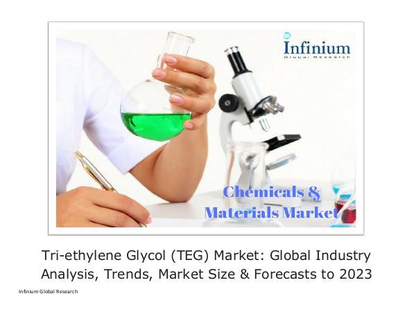 Infinium Global Research Tri-ethylene Glycol (TEG) Market Global Industry A