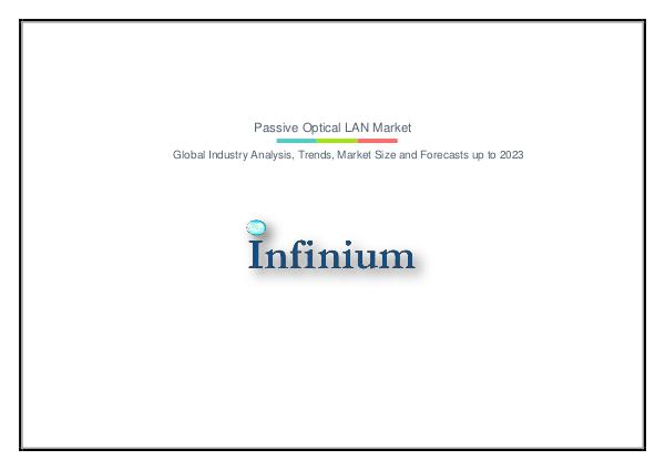 Passive Optical LAN Market