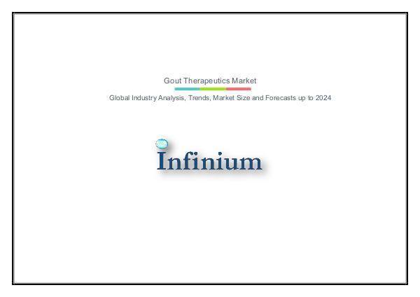Infinium Global Research Gout Therapeutics Market