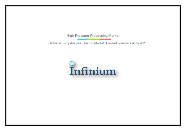 High Pressure Processing Market