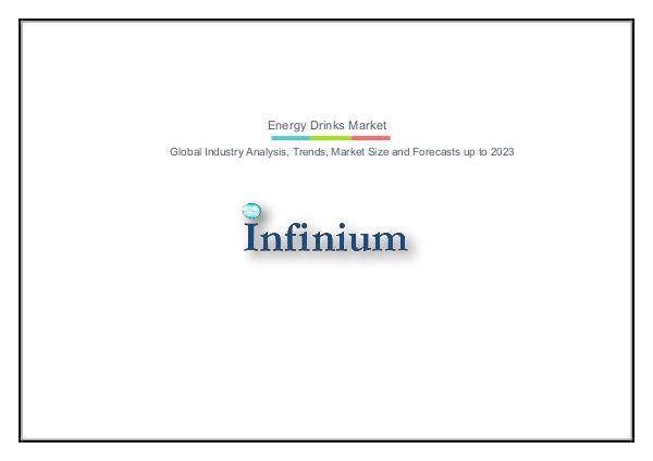 Infinium Global Research Energy Drinks Market