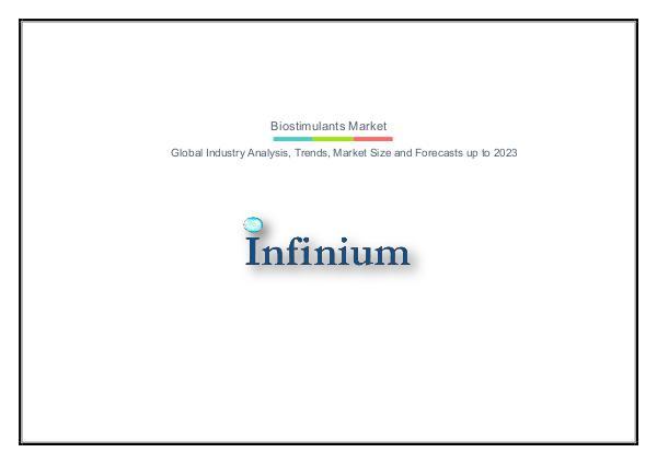 Infinium Global Research Biostimulants Market