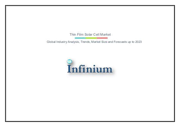 Thin Film Solar Cell Market