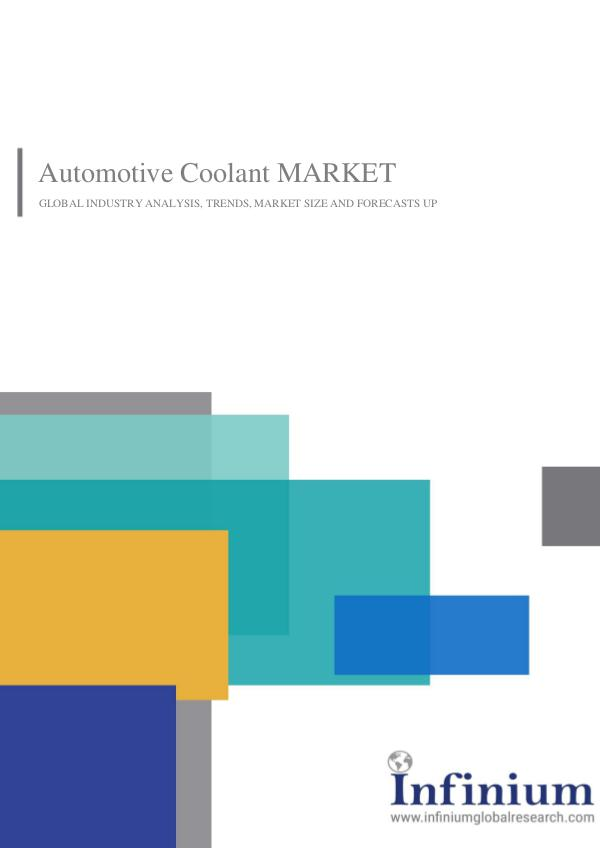 Automotive Coolant Market