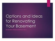 Finished Basement - Your Basement Deserves More