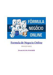 Veja o curso completo Formula Negocio Online 【 Versão 2019  】