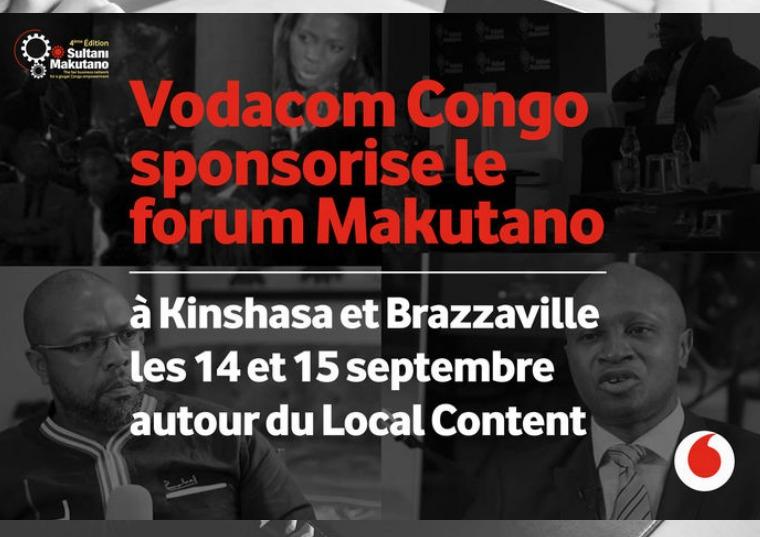 Vodacom Congo sponsor de la 4ème édition du Forum ''Makutano'' Vodacom Congo sponsor de la 4ème édition du Forum