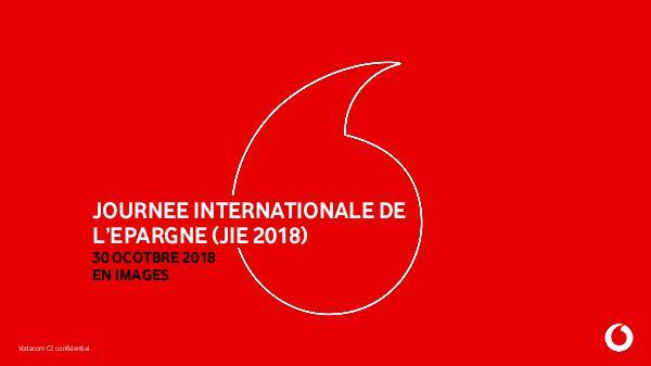 PHOTOS DE LA JOURNEE INTERNATIONALE DE L'EPARGNE (JIE 2018) PHOTOS DE LA JOURNEE INTERNATIONALE DE L'EPARGNE (
