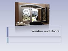 Hometech Windows and Doors Inc
