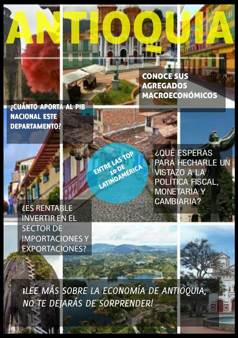 Economía Antioquia Conozca la economía de antioquia