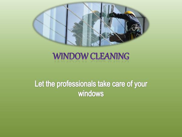 Window Cleaning - Let The Professionals Take Care of Your Windows Window Cleaning - Let the professionals take care