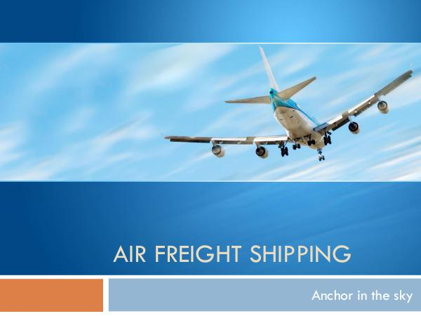 Ontario Container Transport Air Freight Shipping Tips