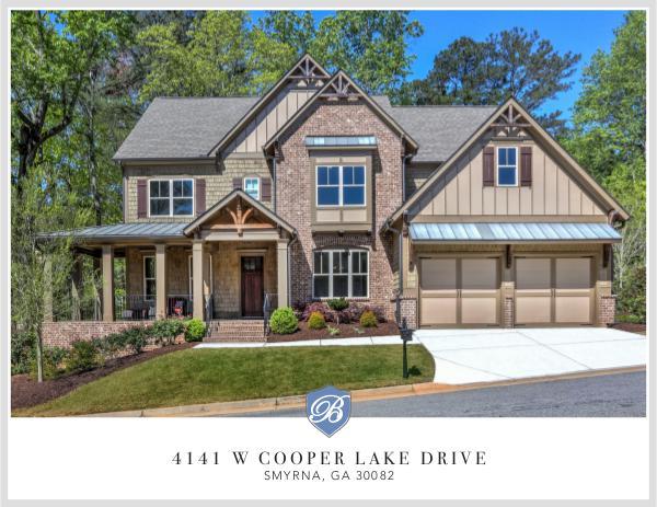Gorgeous Smyrna Home 4141 W Cooper Lake Drive
