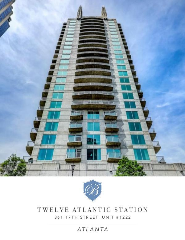 Twelve Atlantic Station, Unit #1222 Twelve Atlantic Station, Unit #1222