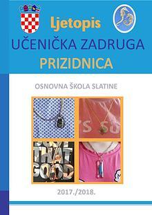 Ljetopis školske zadruge 2017./18.