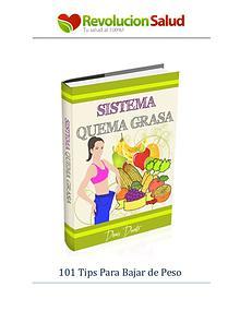 Sistema Quema Grasa Denis Ducato PDF / Libro Gratis Descargar