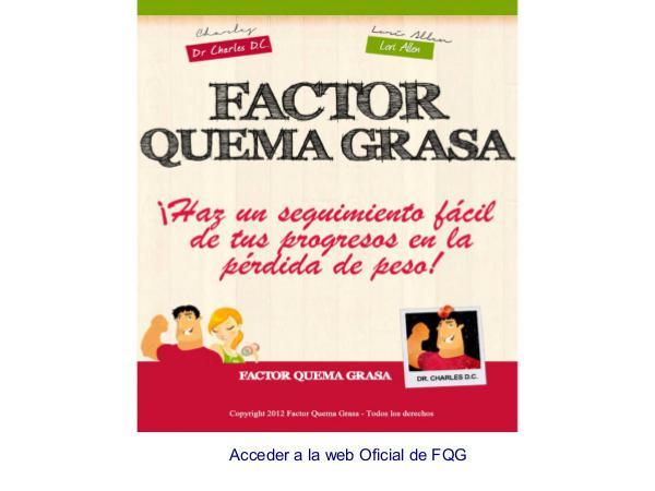 Factor Quema Grasa Dr Charles PDF / Libro Completo Descargar Gratis Factor Quema Grasa