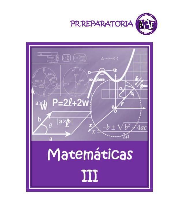 Matemáticas III NPE Matemáticas III