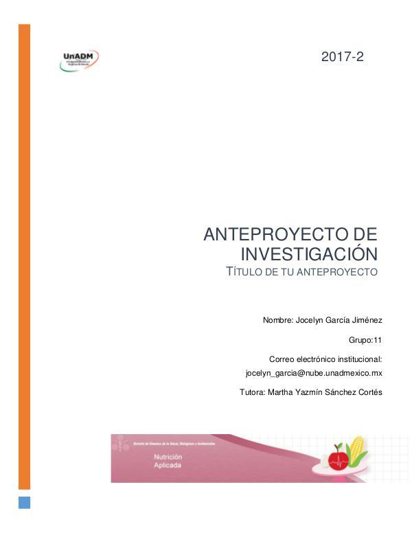 Lactancia materna UnADM FI_U5_EA_JGJ_anteproyectodeinvestigacion
