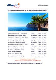 Tenerife no 405 € un Goa no 895 €