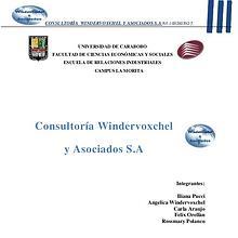 Consultora: Windervoxchel y Asociados