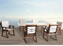 hormel furniture outdoor dining table set