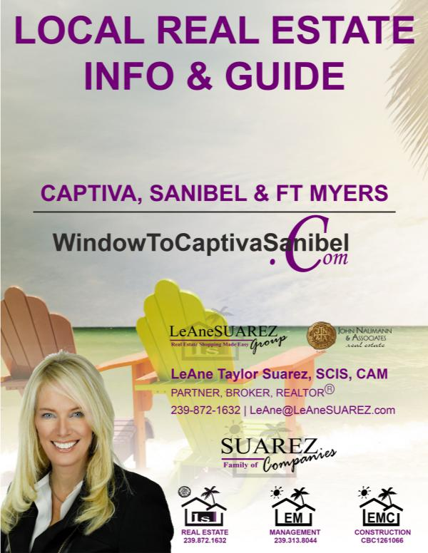 Sanibel Captiva SWFL Real Estate Guide October 2018 Sanibel Captiva SWL RE Guide  October 2018