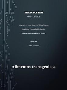 Alimentos Transgenicos.