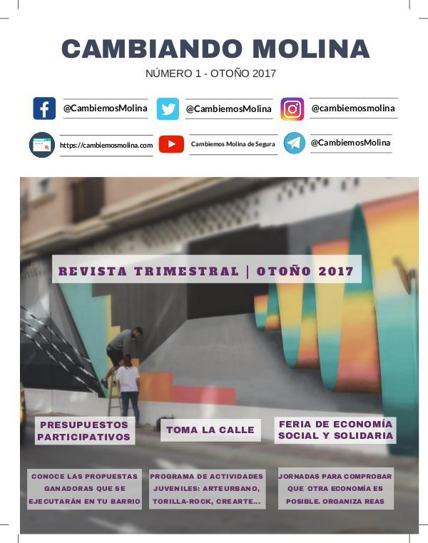 Cambiando Molina. Volumen Otoño 2017 CambiandoMolina_Vol2_otoño-unido