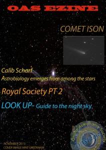 OAS NOVEMBER 20013 ASTRONOMY EZINE VOL 2