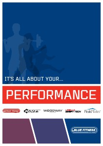 Blue Fitness Product Brochure October 2013
