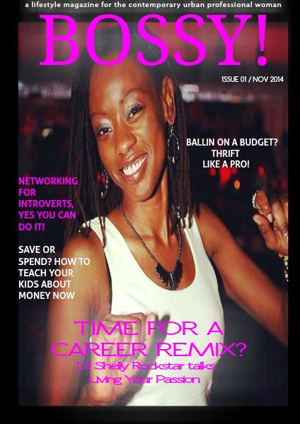 Bossy! Magazine Issue 1 November 2014