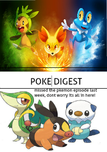 The Pokemon digest Volume 1 October 4 2013
