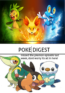 The Pokemon digest