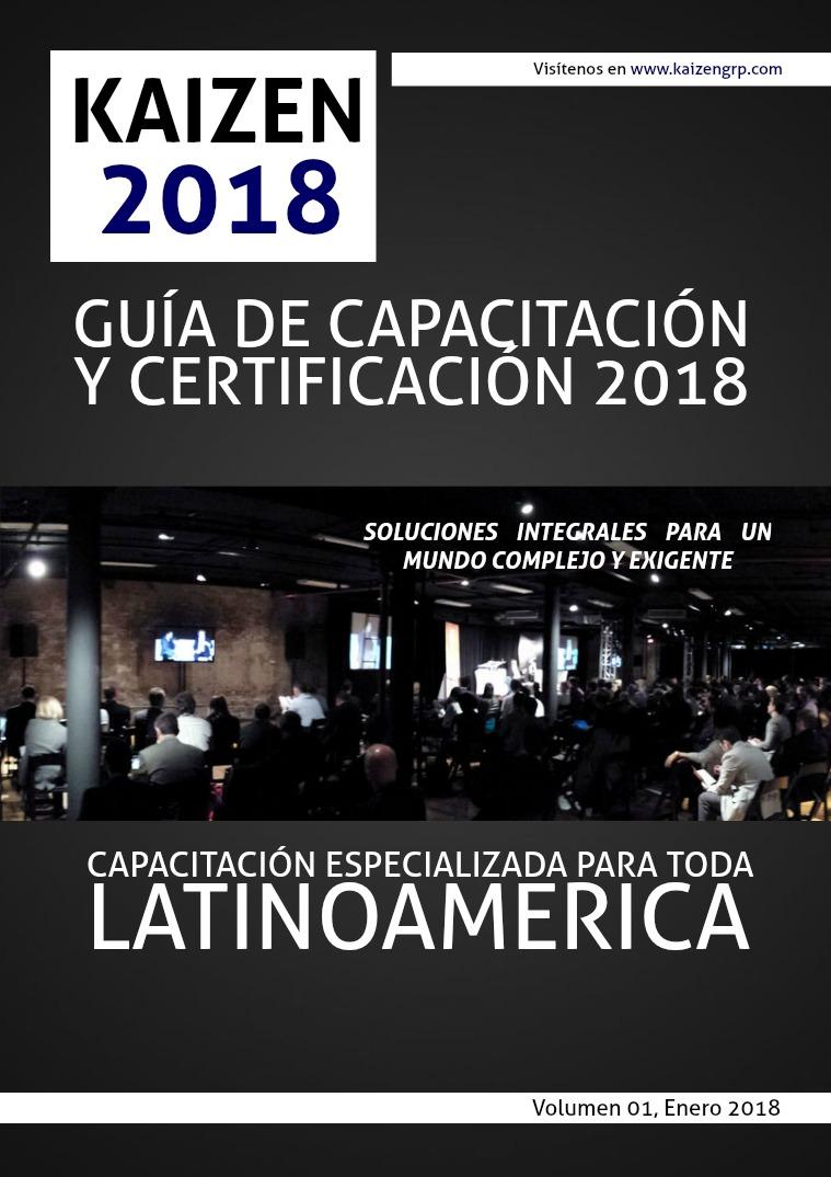 GUIA CAPACITACION 2018 GUIA CAPACITACION 2018