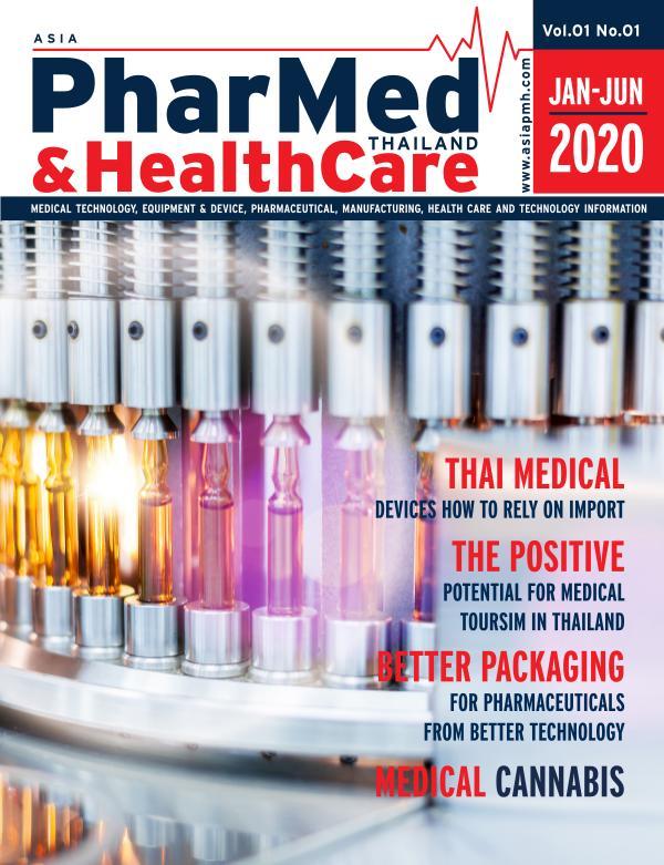 PMH 01 Asia PharMed & HEalthCare Thailand Issue01