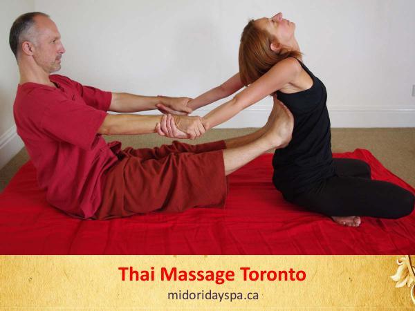 Thai Massage Thai Massage Packages Toronto